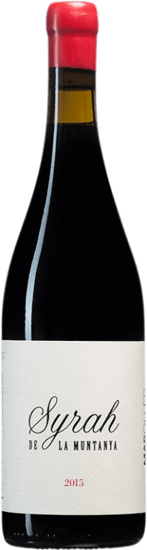 26,95 € Free Shipping | Red wine Mas Oller La Muntanya Crianza D.O. Empordà Catalonia Spain Syrah Bottle 75 cl