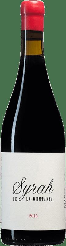 26,95 € Envío gratis | Vino tinto Mas Oller La Muntanya Crianza D.O. Empordà Cataluña España Syrah Botella 75 cl