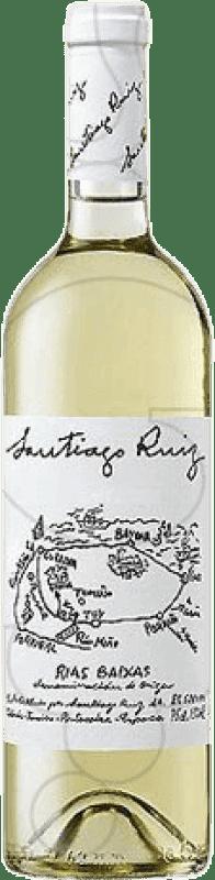 26,95 € | White wine Santiago Ruiz Joven D.O. Rías Baixas Galicia Spain Godello, Loureiro, Treixadura, Albariño, Caíño White Magnum Bottle 1,5 L