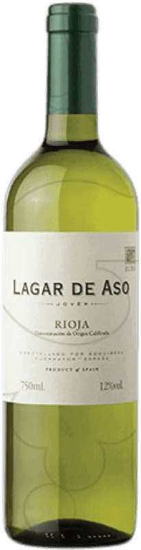 3,95 € | White wine Lagar de Aso Blanc Joven D.O.Ca. Rioja The Rioja Spain Macabeo Bottle 75 cl