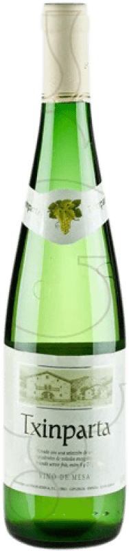 4,95 € | White wine Txinparta Joven The Rioja Spain Hondarribi Zuri, Hondarribi Beltza Bottle 75 cl
