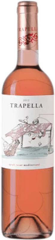 8,95 € Free Shipping | Rosé wine Trapella Joven D.O. Empordà Catalonia Spain Syrah Bottle 75 cl