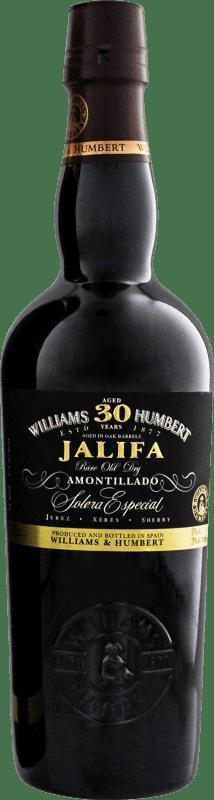 33,95 € Free Shipping | Fortified wine Jalifa 30 Años Amontillado D.O. Jerez-Xérès-Sherry Andalucía y Extremadura Spain Half Bottle 50 cl
