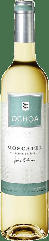 11,95 € Free Shipping | Fortified wine Ochoa D.O. Navarra Navarre Spain Muscat Half Bottle 50 cl