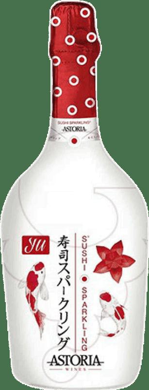 56,95 € Free Shipping   White sparkling Astoria Yu Sushi Sparkling Extra Brut Joven Otras D.O.C. Italia Italy Glera, Prosecco Jéroboam Bottle-Double Magnum 3 L