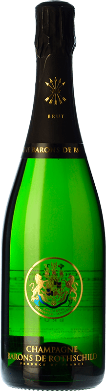41,95 € | White sparkling Barons de Rothschild Brut Gran Reserva A.O.C. Champagne France Pinot Black, Chardonnay, Pinot Meunier Bottle 75 cl