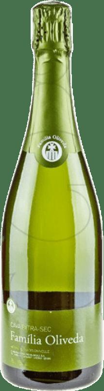 4,95 € 免费送货 | 白起泡酒 Familia Oliveda 干 D.O. Cava 加泰罗尼亚 西班牙 Macabeo, Xarel·lo 瓶子 75 cl