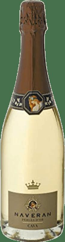 8,95 € Free Shipping | White sparkling Naveran Perles d'Or Brut Joven D.O. Cava Catalonia Spain Xarel·lo Bottle 75 cl