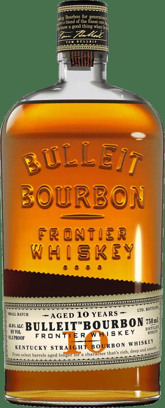 33,95 € 免费送货   波旁酒 Bulleit Distillery 10 Años Reserva 美国 瓶子 70 cl