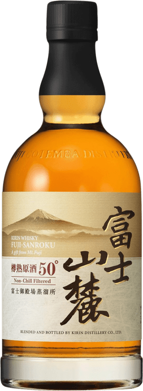 58,95 € Free Shipping | Whisky Blended Kirin Fuji Sanroku Reserva Japan Bottle 70 cl