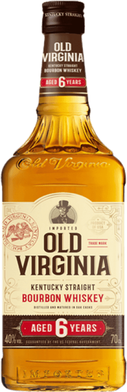 15,95 € Free Shipping | Whisky Blended Old Virginia United States Bottle 70 cl