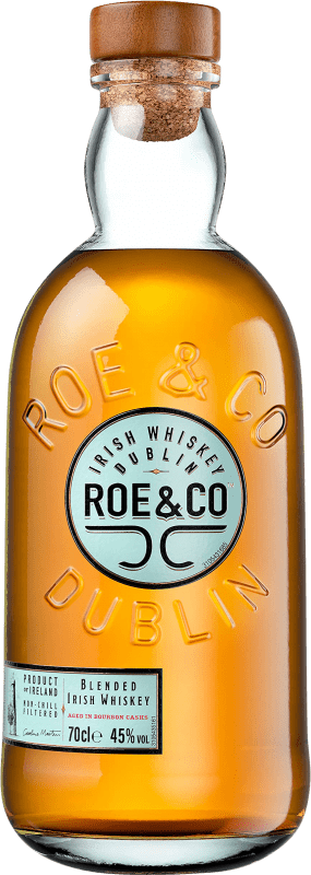 25,95 € Free Shipping | Whisky Blended Roe & Co Ireland Bottle 70 cl