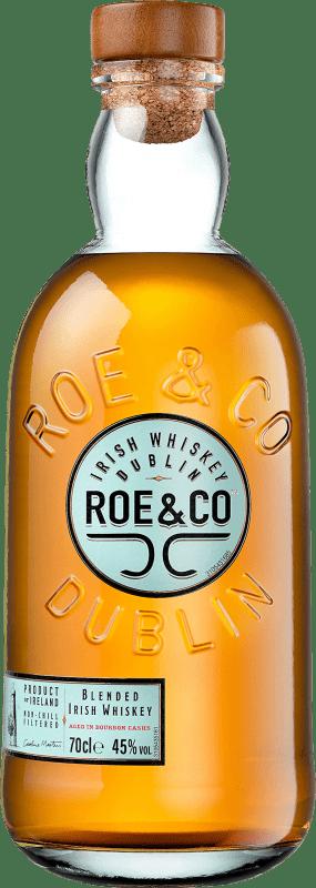 25,95 € Envoi gratuit   Whisky Blended Roe & Co Irlande Bouteille 70 cl