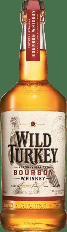 22,95 € Free Shipping | Bourbon Wild Turkey 81 United States Bottle 70 cl