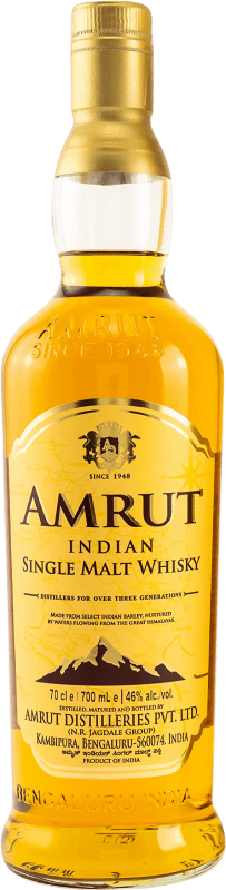 34,95 € Envoi gratuit | Whisky Single Malt Amrut Inde Bouteille 70 cl