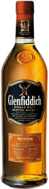 38,95 € | Whisky Single Malt Glenfiddich Rich Oak 14 Años United Kingdom Bottle 70 cl