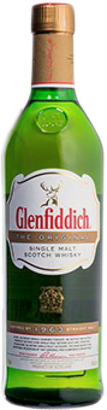 126,95 € Free Shipping | Whisky Single Malt Glenfiddich The Original United Kingdom Bottle 70 cl