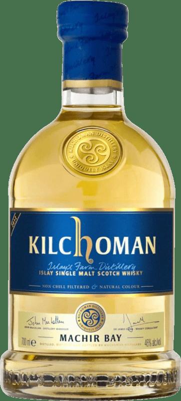 83,95 € Envío gratis | Whisky Single Malt Kilchoman Machir Bay Reino Unido Botella 70 cl