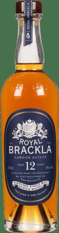45,95 € 免费送货   威士忌单一麦芽威士忌 Royal Brackla 12 Años 英国 瓶子 70 cl