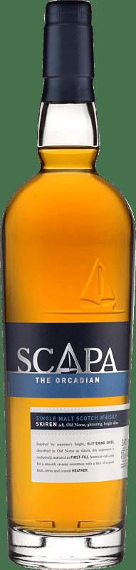 41,95 € Free Shipping | Whisky Single Malt Scapa the Orcadian United Kingdom Bottle 70 cl