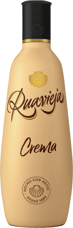 13,95 € Free Shipping | Liqueur Cream Rua Vieja Crema de Orujo Ruavieja Spain Bottle 70 cl