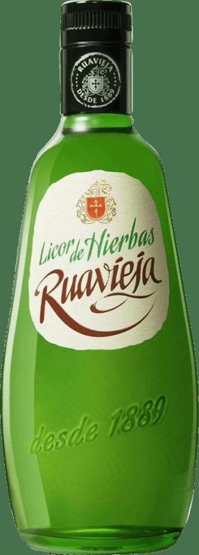 9,95 € Free Shipping | Herbal liqueur Rua Vieja Ruavieja Spain Bottle 70 cl