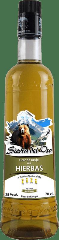 14,95 € Free Shipping | Herbal liqueur Sierra del Oso Spain Bottle 70 cl