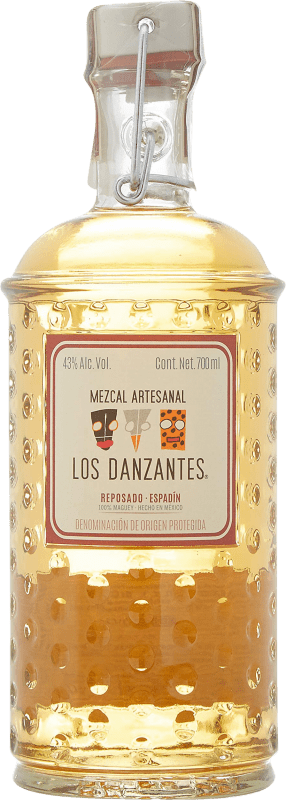 58,95 € Free Shipping | Mezcal Los Danzantes Reposado Mexico Bottle 70 cl