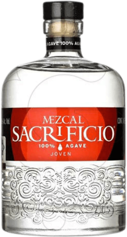 41,95 € Free Shipping | Mezcal Sacrificio Blanco Mexico Bottle 70 cl