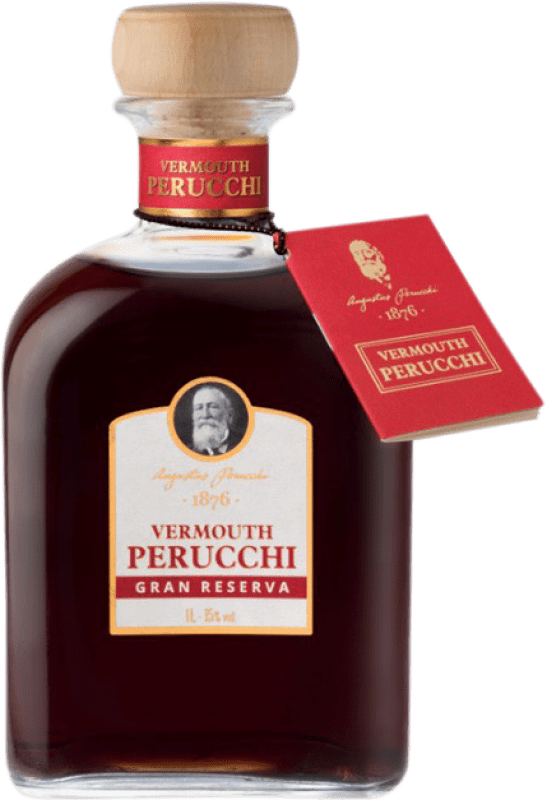 9,95 € Free Shipping | Vermouth Perucchi Gran Reserva Spain Missile Bottle 1 L