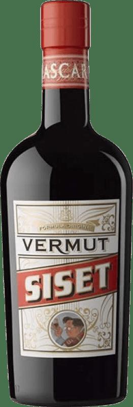 9,95 € Envío gratis | Vermut Siset España Botella 75 cl