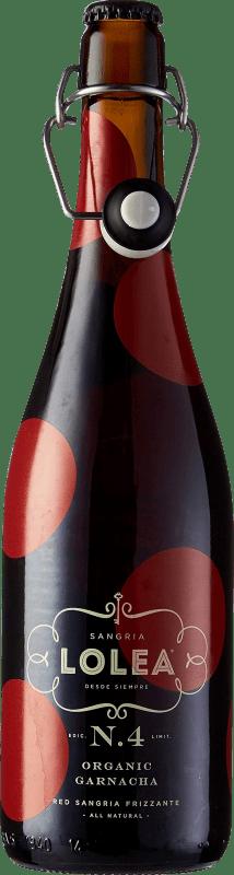 9,95 € Envío gratis | Sangría Lolea Nº 4 Organic España Botella 75 cl