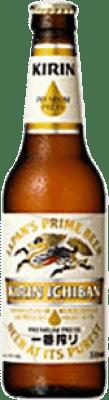 1,95 € Free Shipping | Beer Kirin Ichiban Japan Botellín Tercio 33 cl