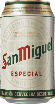 0,95 € | Beer Cervezas San Miguel Spain Lata 33 cl