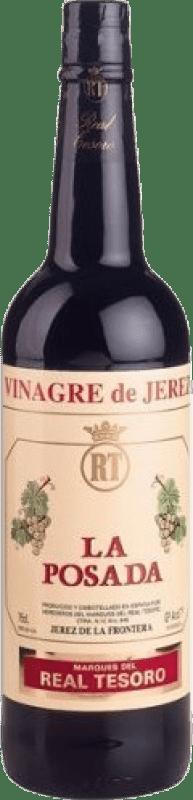 4,95 € Envío gratis | Vinagre Real Tesoro España Botella 75 cl