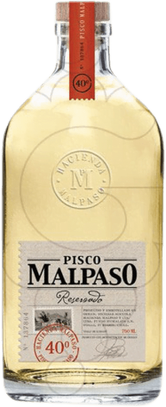 21,95 € 免费送货 | Pisco Hacienda Mal Paso Malpaso Reserva 智利 瓶子 70 cl