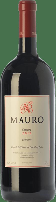 74,95 € Envío gratis | Vino tinto Mauro Mauro Magnum I.G.P. Vino de la Tierra de Castilla y León Castilla y León España Botella Mágnum 1,5 L