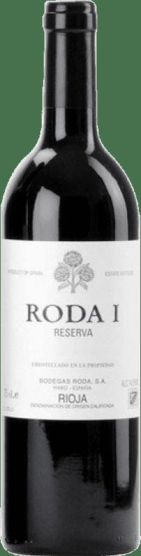 101,95 € Envío gratis | Vino tinto Bodegas Roda Roda I Reserva D.O.Ca. Rioja La Rioja España Tempranillo Botella Mágnum 1,5 L