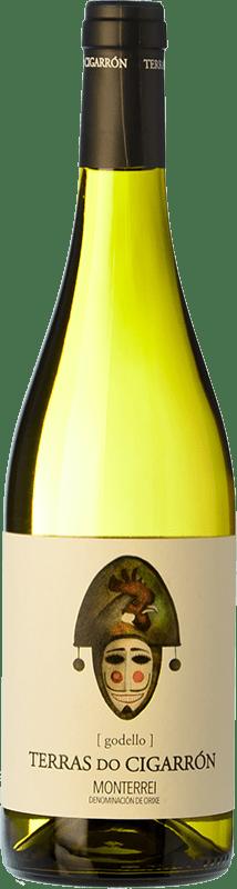 免费送货 | 白酒 Martín Códax Terras do Cigarrón D.O. Monterrei 西班牙 Godello 瓶子 75 cl