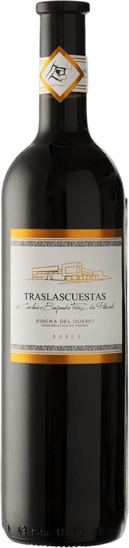 Free Shipping | Red wine Traslascuestas Joven D.O. Ribera del Duero Spain Tempranillo Bottle 75 cl