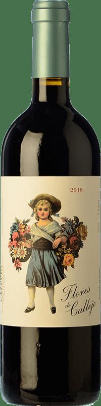 Envoi gratuit   Vin rouge Callejo Flores de Callejo Jeune D.O. Ribera del Duero Espagne Tempranillo Bouteille Magnum 1,5 L