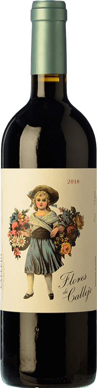 Envío gratis | Vino tinto Callejo Flores de Callejo Joven D.O. Ribera del Duero España Tempranillo Botella Mágnum 1,5 L
