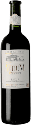 Piérola Vitium Tempranillo Rioja Reserva 75 cl