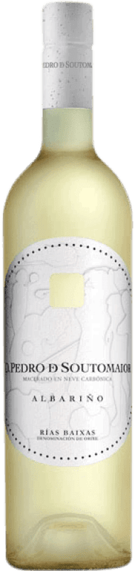 Envoi gratuit   Vin blanc Adegas Galegas Don Pedro de Soutomaior Neve D.O. Rías Baixas Espagne Albariño Bouteille 75 cl