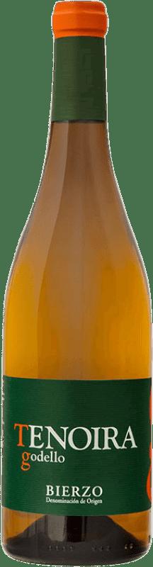 Kostenloser Versand | Weißwein Tenoira Gayoso Jung D.O. Bierzo Spanien Mencía Flasche 75 cl