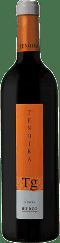 Vino tinto Tenoira Gayoso D.O. Bierzo España Mencía Botella Mágnum 1,5 L