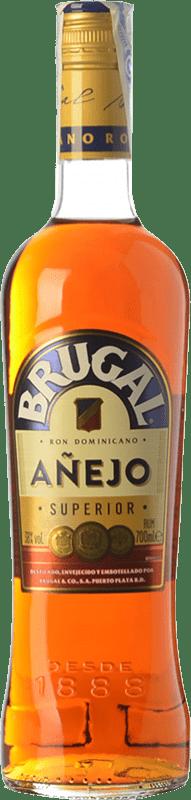 21,95 € | Rum Brugal Añejo Dominican Republic Missile Bottle 1 L