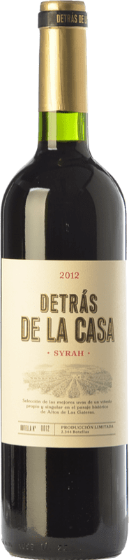 39,95 € | Red wine Castaño Detrás de la Casa Crianza D.O. Yecla Region of Murcia Spain Syrah Magnum Bottle 1,5 L