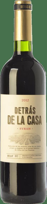39,95 € Envío gratis | Vino tinto Castaño Detrás de la Casa Crianza D.O. Yecla Región de Murcia España Syrah Botella Mágnum 1,5 L