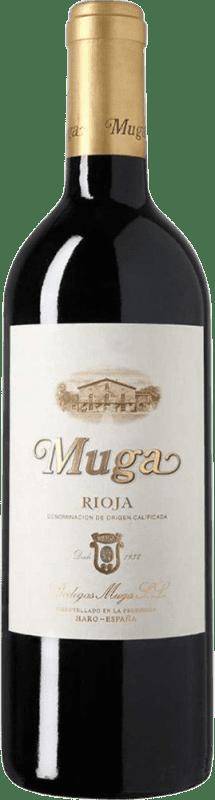41,95 € | Red wine Muga Crianza D.O.Ca. Rioja The Rioja Spain Tempranillo, Grenache, Graciano, Mazuelo Magnum Bottle 1,5 L